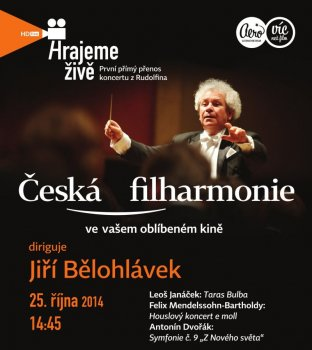 Česká filharmonie z Rudolfina
