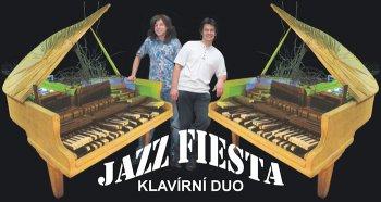 Benefiční koncert klavírního dua Jazz siesta