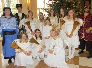 Vánoční koncert souboru Marjánek