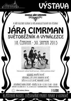 Jára Cimrman světoběžník a vynálezce! - 1. část výstavy