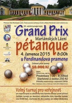 GRAND PRIX Mariánské Lázně 2015