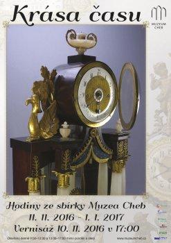 Die Schönheit der Zeit. Uhren aus der Sammlung des Museums Cheb.