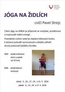 JÓGA NA ŽIDLÍCH - Pavel Strejc