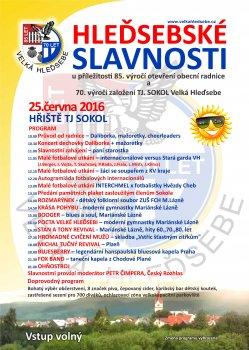 HLEĎSEBSKÉ SLAVNOSTI