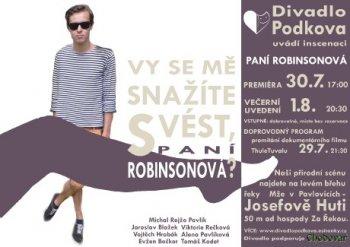 PANÍ ROBINSONOVÁ
