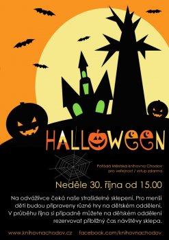Halloweenské strašení