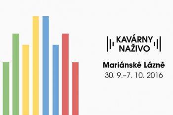 Slavnostní zahájení festivalu Kavárny naživo 2016