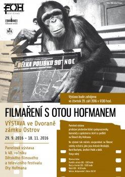 FILMAŘENÍ S OTOU HOFMANEM - vernisáž
