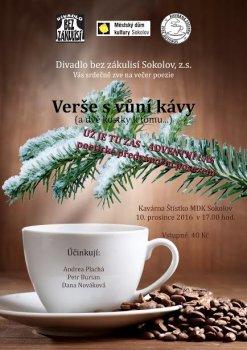 Verše s vůní kávy (a dvě kostky k tomu)