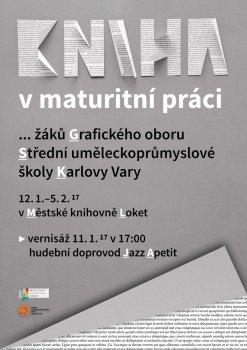 Kniha v maturitní práci žáků SUPŠ K. Vary