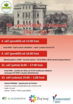 50. výročí DDM v Chodově