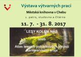 Výstava výtvarných prací Lesy kolem nás