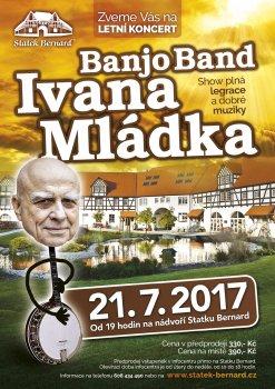 Letní koncerty na Bernardu startují, o prázdninách zde vystoupí Ivan Mládek a Pavel Žalman Lohonka