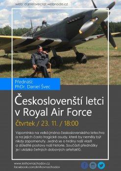 Českoslovenští letci v RAF – Phdr. Daniel Švec