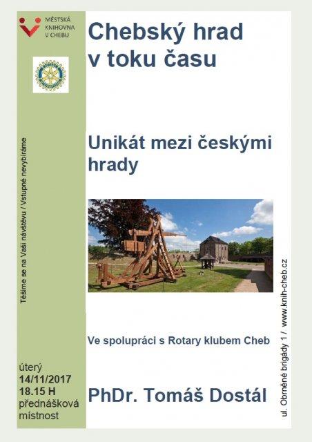 Chebský hrad v toku času - PhDr. Tomáš Dostál