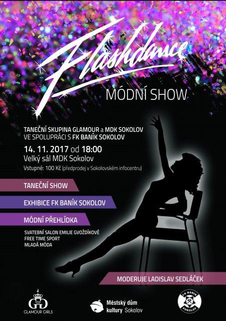 Modní show TS Glamour a FK Baník Sokolov
