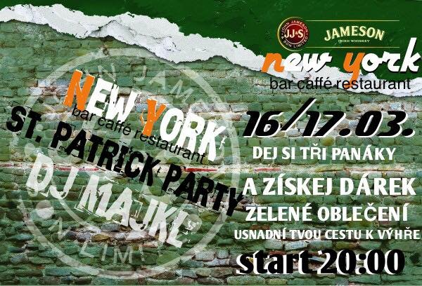 ST. PATRICK PARTY V NEW YORKU