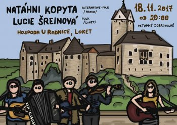 Natáhni kopyta alternative-folk/Praha+Lucie Šreinová(folk-Loket)