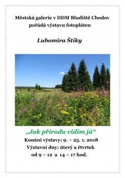 """""""Jak přírodu vidím já""""  výstava fotopláten Lubomíra Štiky"""