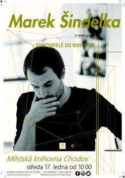 Spisovatelé do knihoven – Marek Šindelka