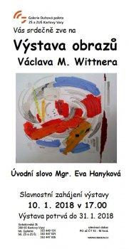 Výstava obrazů Václava M. Wittnera