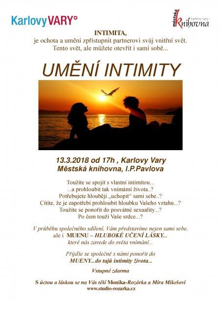 Umění intimity