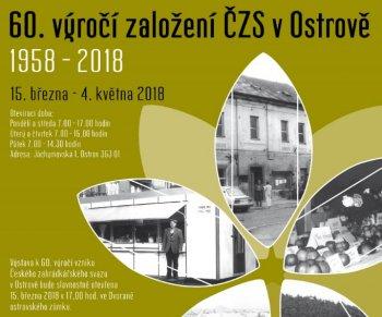 60. výročí založení ČZS v Ostrově 1958-2018