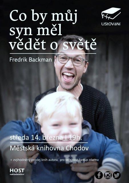 LiStOVáNí: Co by můj syn měl vědět o světě (Fredrik Backman)