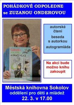 Pohádkové odpoledne se Zuzanou Onderovou