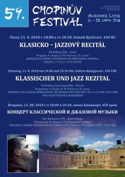 Classical – jazz recital