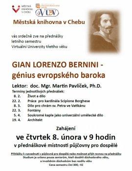 Virtuální Univerzita třetího věku - Gian Lorenzo Bernini - génius evropského baroka