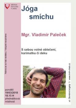 Jóga smíchu - Mgr. Vladimír Paleček