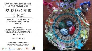 """Workshop na téma """"Tradice jara"""" - pletení košíků z pedigu"""