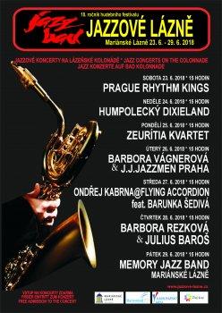 Jazzové lázně 2018