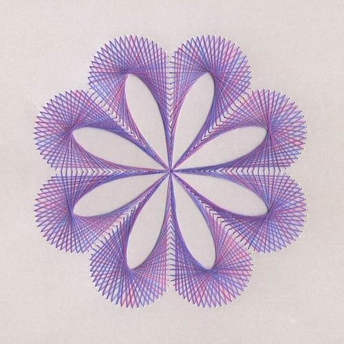 Nitěná grafika – Spirella