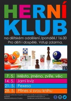 Herní klub - Přines si svou knihu