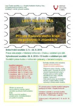 Lesy kolem nás aneb Příroda Karlovarského kraje na poštovních známkách