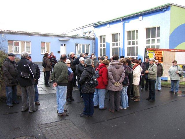 Klub důchodců Slaměnka: odjezd delegace seniorů ze Sokolova na setkání