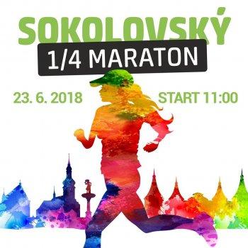 Sokolovský ¼ maraton, Barevný běh