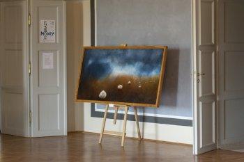 Výstava obrazů - Jiří Modrý