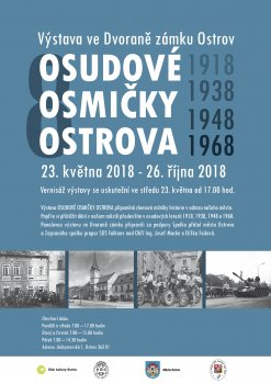 Osudové osmičky výstava fotografií historických milníků Ostrova