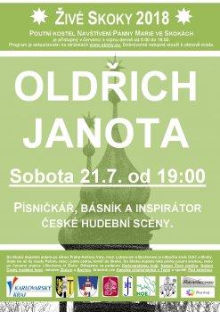 Oldřich Janota ve Skokách