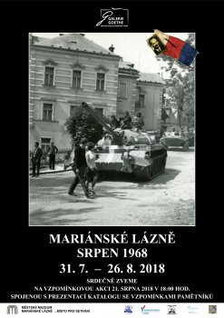 Mariánské Lázně srpen 1968