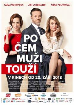 Po čem muži touží ČR, komedie, 95 min, česky. Vstupné: 130 Kč