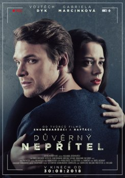 NEJEN PRO SENIORY Důvěrný nepřítel ČR/SR, thriller, 108 min, česky. Přístupné od 12 let. Vstupné: 60 Kč