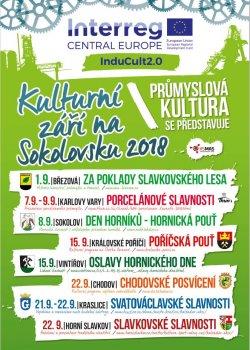 Culture in September 2018 in Sokolov district