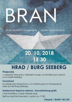 Koncert skupiny BRAN – hudba keltské Bretaně