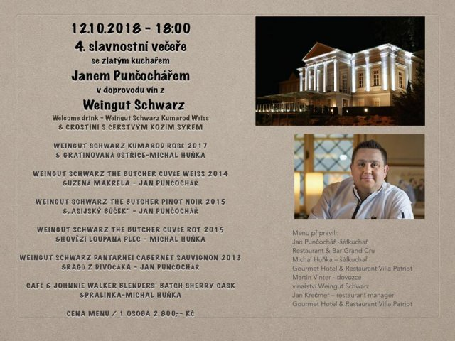 Золотой повар Jan Puncochar