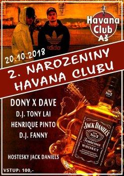 2. Narozeniny Havana Clubu