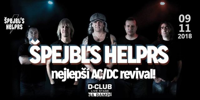 AC/DC tribute band - Špejbl's Helprs